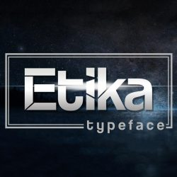 فونت انگلیسی اتیکا Etika