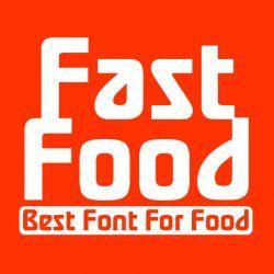 فونت انگلیسی Fast Food