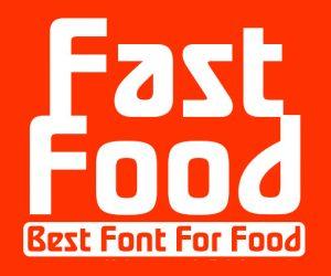 فونت انگلیسی FastFood